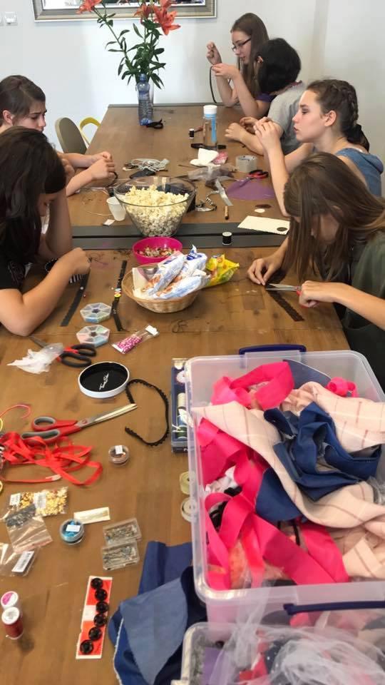 Denný tábor Mladý módny stylista a Make-up artista