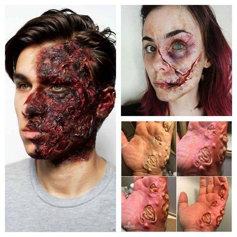Extrémne maskérske úkony