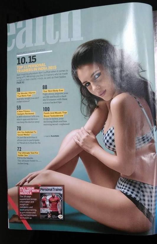 Naša modelka v magazíne